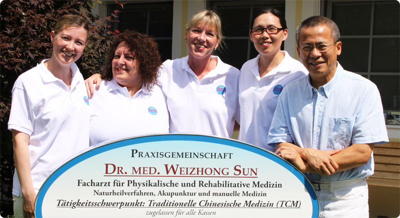 Praxisgemeinschaft Dr. med. Weizhong Sun: Facharzt für Physikalische und Rehabilitative Medizin, Akupunktur, Naturheilverfahren und manuelle Medizin